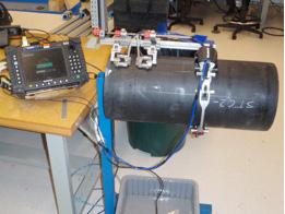 OmniScan MXU inspection set up