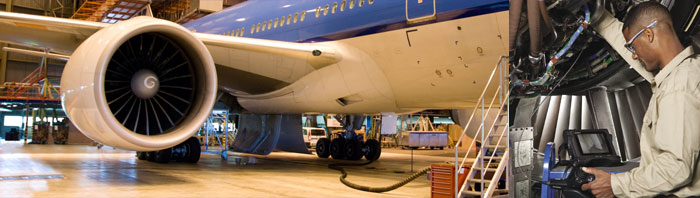 Visual Inspections of Passenger Jet Engines