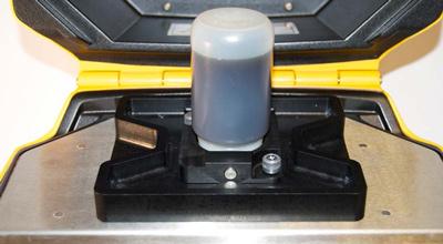 X-5000 testing petroluem, in chamber