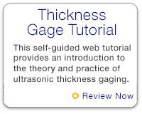 Thickness Gage Tutorial