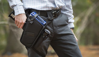 Holster your analyzer and free your hands