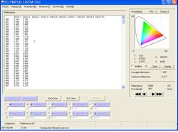 Reflectivity text data image