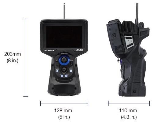 IPLEXGLite ipari videoszkóp méretei