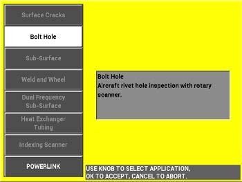 Eddy Current Bolt Hole Inspection Smart Filter Adjustment