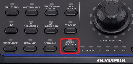 Depth of focus button