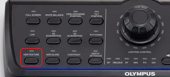 Emphasize texture button