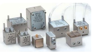 Dual element angle beams (TRL testing)