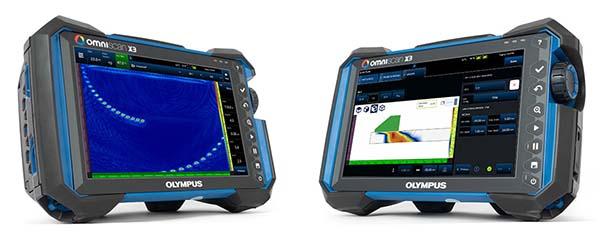 Olympus OmniScan X3 Phased Array Flaw Detector