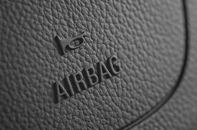 Airbags are an important safety feature, and the thickness of their seams needs to be measured as part of quality control.
