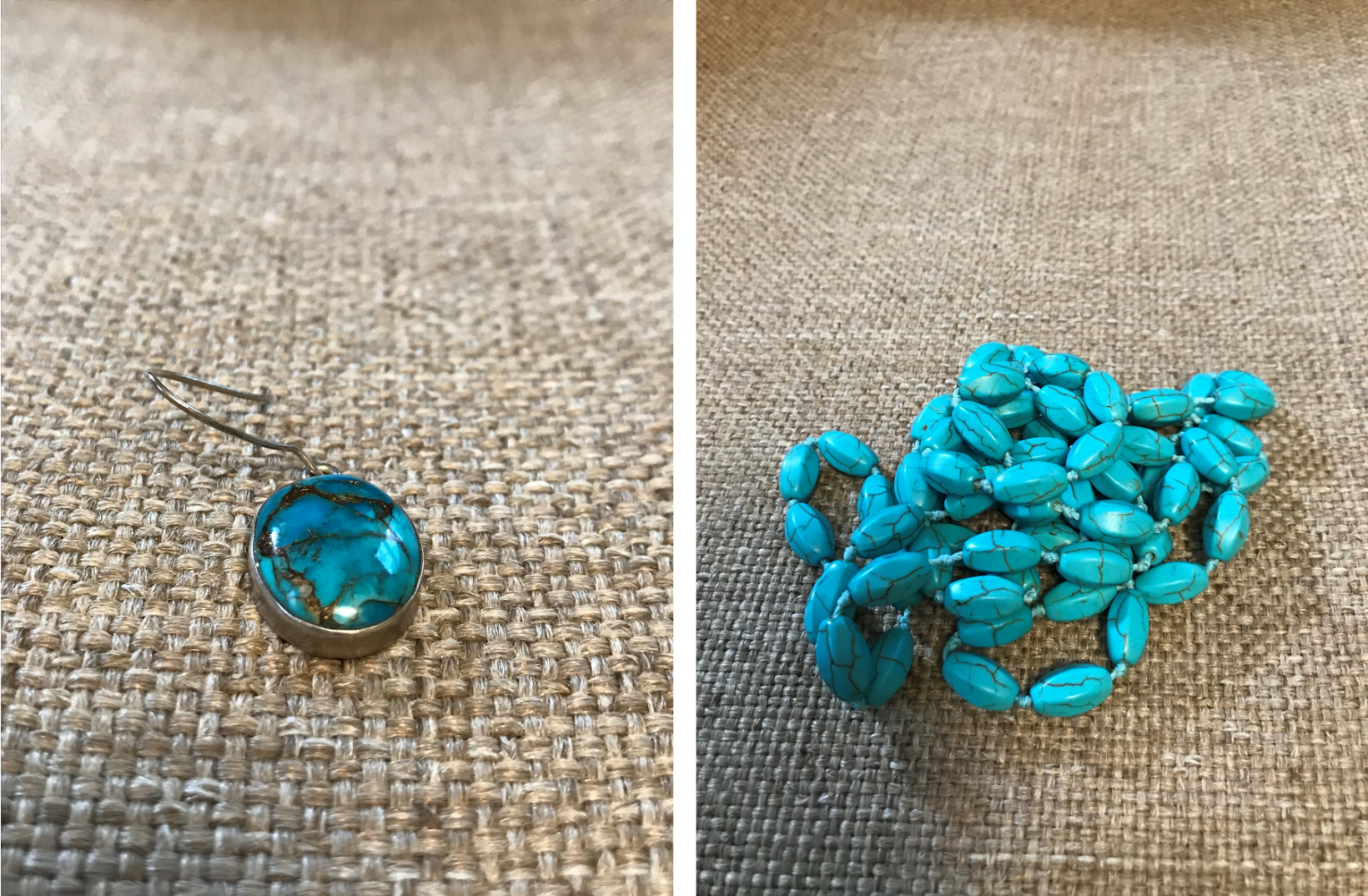 Identifying real turquoise with XRF testing