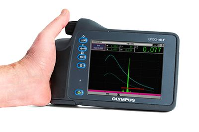 flaw detector software features DAC/TCG and DGS/AVG