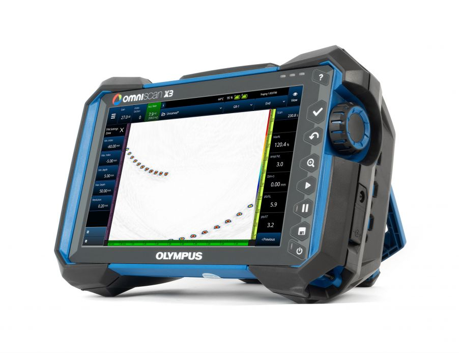 OmniScan X3 phased array flaw detector