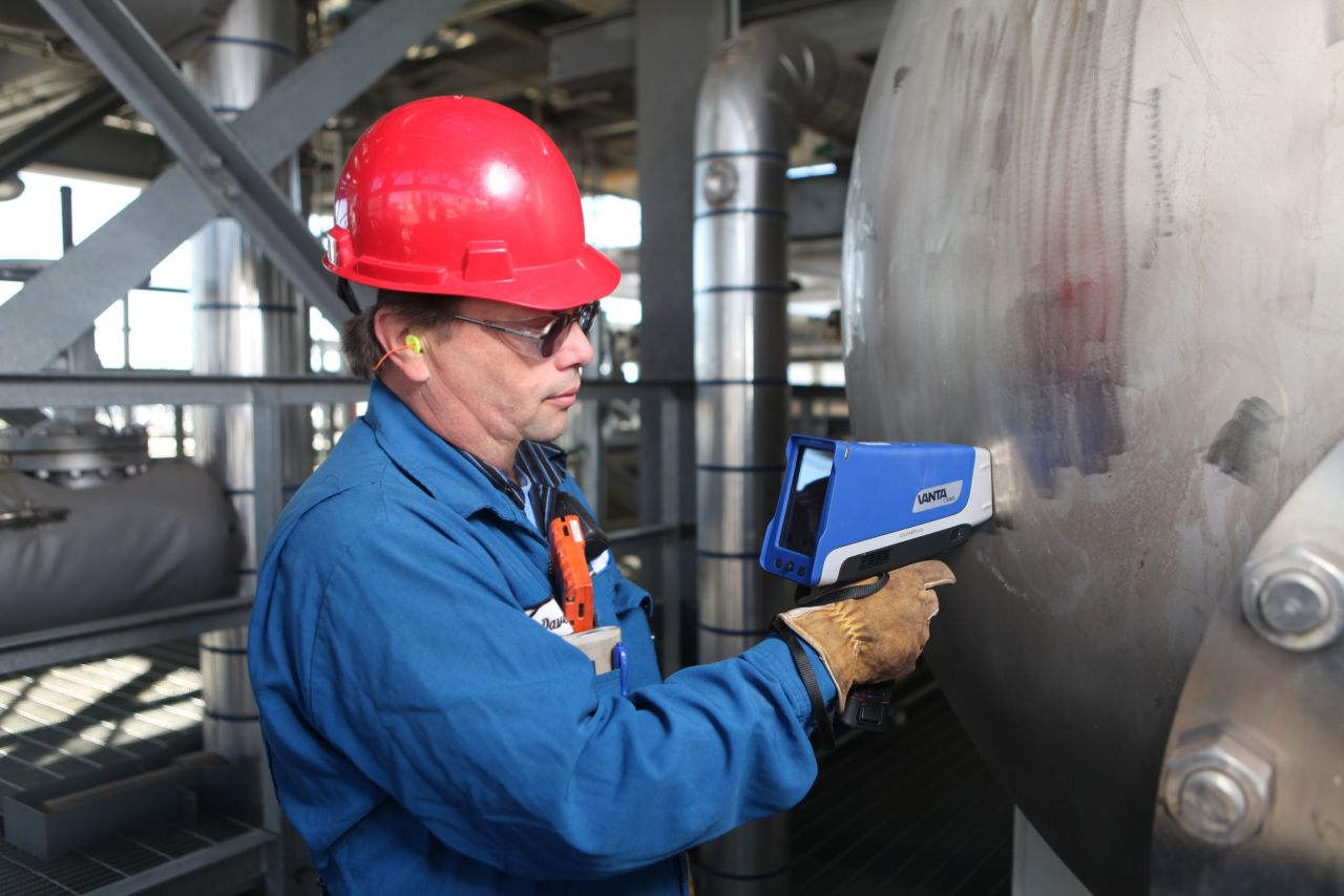 portable xrf weld inspection