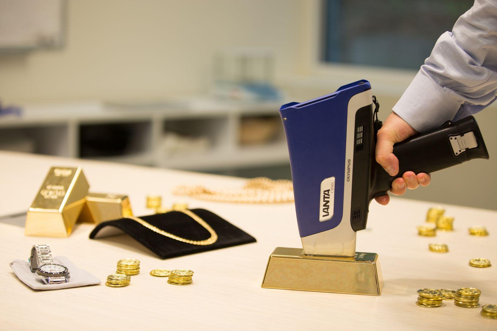 portable xrf analyzing precious metals