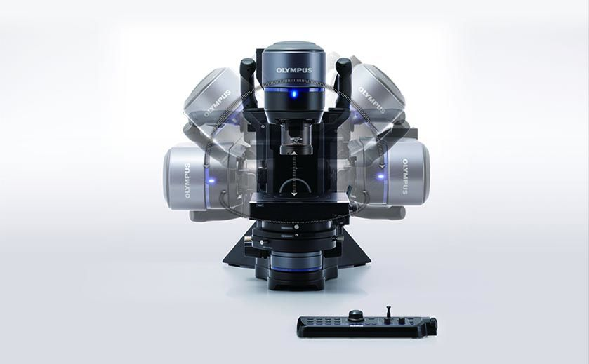 Modern digital microscope for failure analysis, quality control, and manufacturing